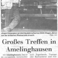 Landeszeitung Lueneburg 1997