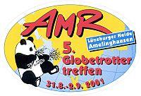 2001-AMR-Treffen-Aufkleber