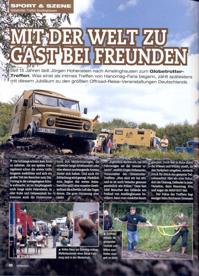 Bericht der 4x4action 2011