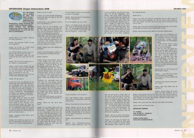 Bericht im Allradler 2009