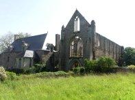 Die Ruine der Abbaye de Beauport