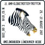 Aufkleber AMR-Globetrotter-Treffen 2017