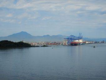 Der Hafen von Paranagua...