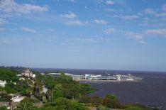 Der Fährhafen von Colonia...