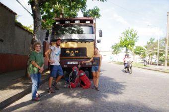 Treff mit Stephanie und Max aus Südtirol - ein etwas längerer Schnack tat gut.