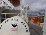 Frachtschiff Grande San Paolo - Grimaldi Lines
