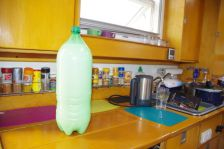 """Drei Liter frische Milch - ein """"Stellplatz- Willkommens-Geschenk"""" vom Estanciero"""