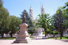 Im Zentrum von Carmen de Patagones (Provinz Buenos Aires)