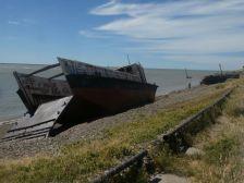 ...das Motorschiff Mula o Explorador 1, ...