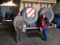 Antonio in Rio Grande hilft bei der Lösung des Problems