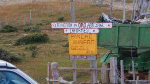 ...entlang den Goldclaimbs vom Rio del Oro...