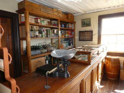 Das Museo del Recuerdo bietet auch in originalen Gebäuden Einrichtungen aus den 1900er Jahren...