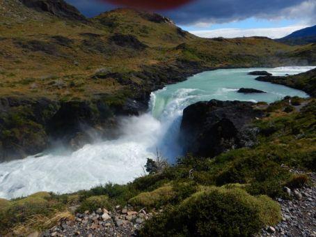 Der größte Wasserfall des Parks, der Salto Grande