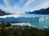 …und fahren zum Gletscher Perito Moreno.