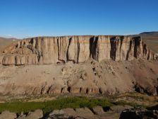 Im Parque Patagonica – im Canyon des Rio Pinturas…