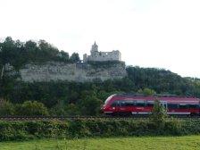 Die Rudelsburg (1171) ...