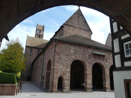 Das Kloster Alpirsbach im Schwarzwald beherbergt ...