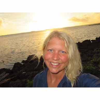 Karin Nyberg @Tonga för RikaKvinnor.se