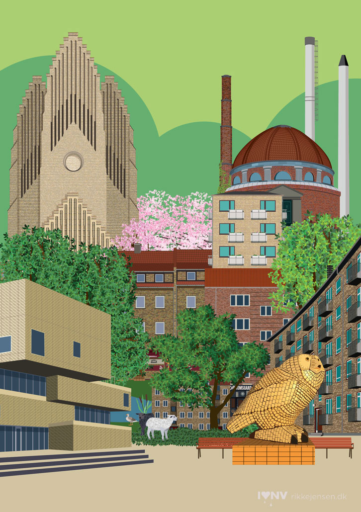 Bispebjerg Collage