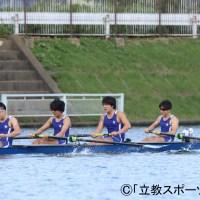 【ボート部】悔しさ残る結果も、成長感じたレースに前を向く