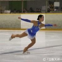 【スケート部フィギュア部門】〈4年生引退特集〉銀盤に刻むスケート人生の軌跡。小柳(法4)が語る「私にとってスケートは…」