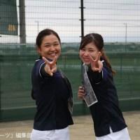 【テニス部女子】誰よりも強い負けん気と責任感 山田悠理