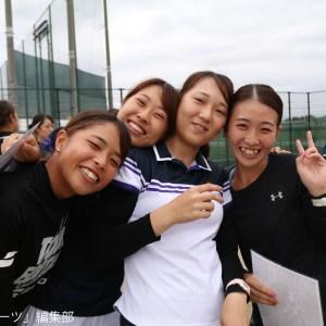 左から宗和(社1)、木村(文1)、角田(コ1)、中村(文1)