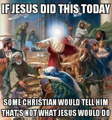 Jesus & the money lenders