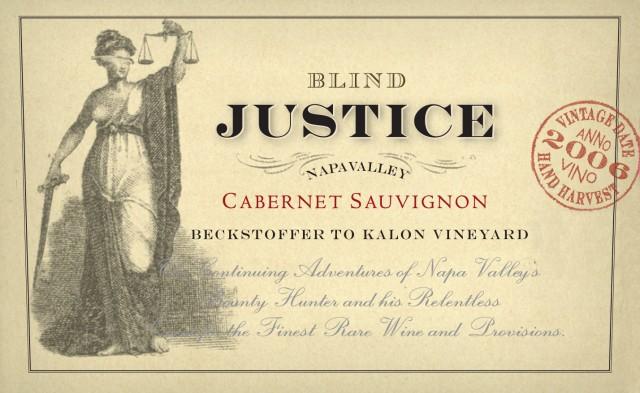 Den godeste Fru Justitia er i sannhet blind, - på gal måte.