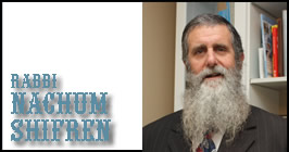 Rabbi Nachum Shifren