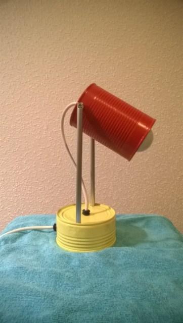 Blikjes lamp