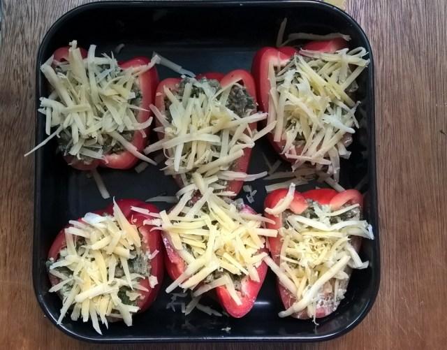 Gevulde paprika (1)