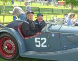 Victor Riley in Sprite at VSCC Prescott  Credit Nick Lees