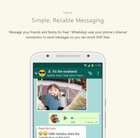 Staying in touch for FREE when you leave the country-Whatsapp
