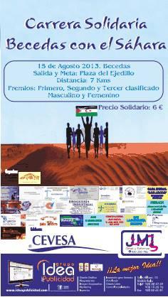 """Carrera Solidaria """"Becedas con el Sáhara"""""""