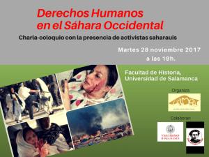 Jornadas de DDHH por el Sáhara en Santa Marta de Tormes