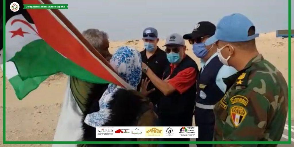 Comunicado conjunto de la Delegación saharaui y las Asociaciones de CyL sobre la situación en Guerguerat (Sáhara Occidental)
