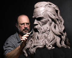 Portrait Sculptures, Figurative Sculpting Classes by Philippe Faraut
