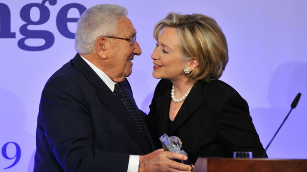 Hillary Clinton Praises a Guy With Lots of Blood on His Hands   Mother Jones