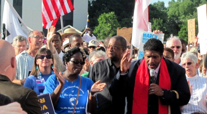 Restoring our Democracy: Calling the NAACP and MoralMondays