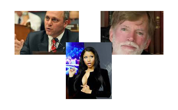 David Duke, Scalise, Jews and… Nicki Minaj?
