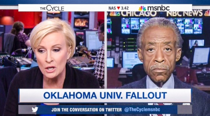 #Racism according to Mika and the #MorningJoe crew…