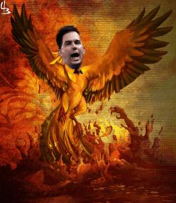 Original Phoenix Rising image, h/t Deviant Art