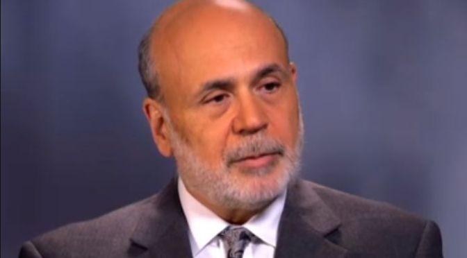 Oh, Ben! Ben Bernanke calls @BernieSanders a conspiracy theorist | #GreatRecession fallout on Blog#42