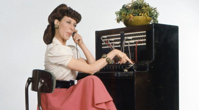 Calling N.Y. @Observer's main number reminded me I was once Ernestine | Blog#42