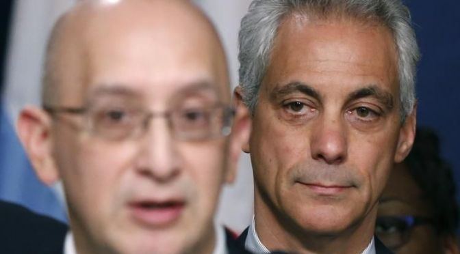 Rahm Emanuel: Saved By The Taser? | #BlackLivesMatter on Blog#42