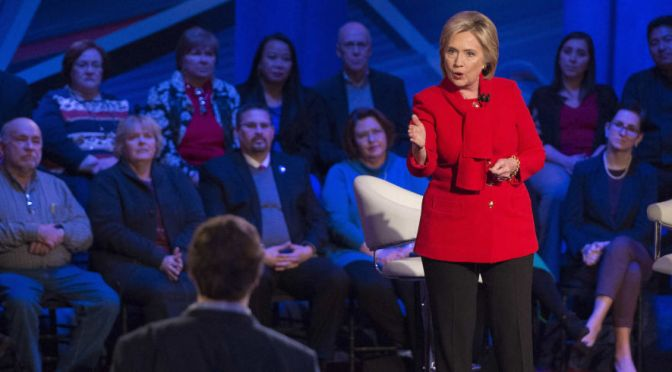 Hillary Clinton lets out her inner Goldwater Girl in praise of Abe Lincoln | #Iowa #DemTownHall on Blog#42
