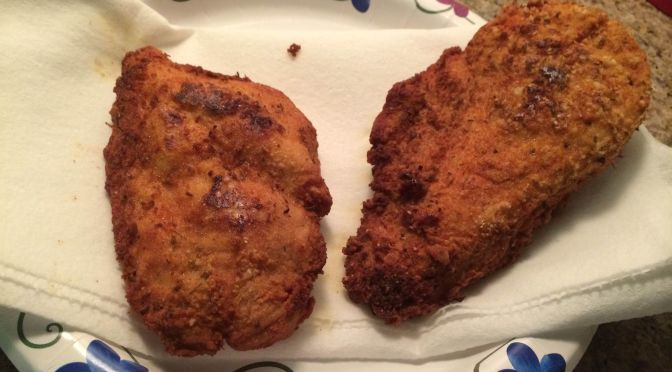 Low-carb Gluten-free Schnitzel Recipe | #Cooking with Blog#42