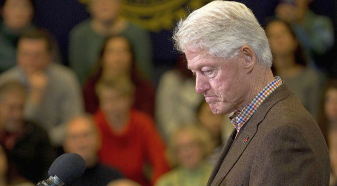 #BillClinton's Cog-In-The-Wheel Surrogacy of #HillaryClinton: Worse Than 2008 | Blog#42