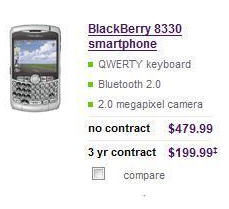 Is the CDMA BlackBerry Curve 8330 Upon Us?